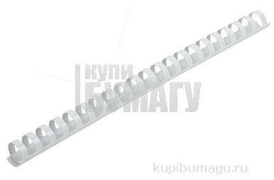 Пружины для переплета пластиковые ProMega Office 19мм белые
