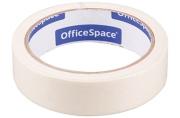 Клейкая лента малярная OfficeSpace, 25мм*25м, ШК