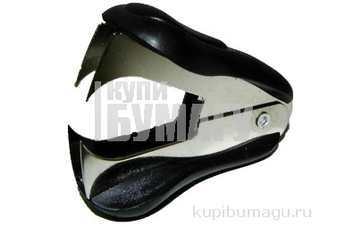 Анти-степлер 6412 для скоб №10, 24/6, 26/6, с фикс., черный