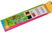 """Карандаши цветные ArtSpace """"Динозаврики"""", 6цв., заточен., картон, европодвес"""