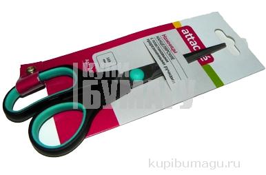 Ножницы 169мм с пласт. прорезинен. ручками Attache `SC9907-169