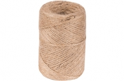 Шнур банковский джутовый, полированный, 1200текс, 100м, сменный блок