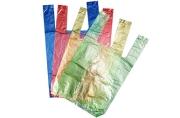 """Пакет """"4 цвета"""", полиэтиленовый, майка, 16 х 28 см, 7 мкм МИКС"""