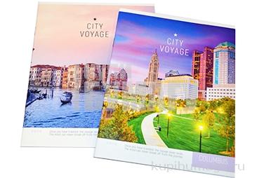 "Тетрадь 40клетка ArtSpace ""Путешествия. City voyage"""