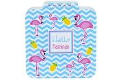 """Блокнот А6 60л. на гребне Hatber """"Hello flamingo"""", с фигурной высечкой"""