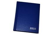 2020 Ежедневник датир. 2020г., A6, 168л., бумвинил, OfficeSpace, синий