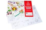 """Раскраска-набор А4 Hatber """"Забавные истории"""", 8л., пакет с европодвесом"""