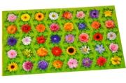 Наклейки мини Цветы