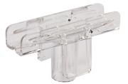 Держатель рамки POS Т-образный, для сборки напольной стойки, для трубок диаметром 9мм, 290265