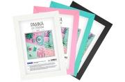 Рамка пластиковая 10*15 см, OfficeSpace, №6/1, ассорти (черный, белый, розовый, мятный)
