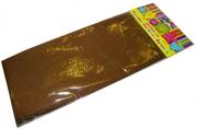 Бумага светло-коричневая крепированная арт. 30093/10 плотностью 22 г/м2 (в упаковке 1 лист, размером 500x2500мм)