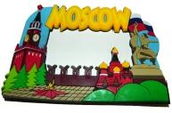 "Фоторамка-резина 5304, ""MOSCOW"", 7х4, 5см /30 /0 /300"