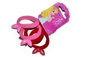 """Резинка для волос """"Ушки перелив"""" (цена за штуку) красный, розовый  3473054"""