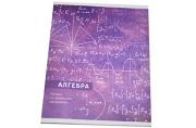 Тетрадь предметная Алгебра «Узоры», 36 листов в клетку,  со справочным материалом, белизна