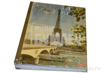 Тетрадь на кольцах, 120л., HATBER, ламин. обл., Париж, 120ТК5B1_10506 (T103135)