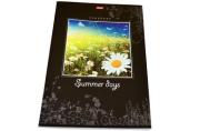 Тетрадь 96л. А4 HATBER, кл., выборочный лак, Summer Days (Природа), 96Т4вмB3 (T095577)