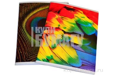 Тетрадь 96 листов, клетка, обложка мел. карт., блок офсет, Текстуры, BRAUBERG ЭКО, 403058