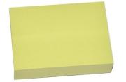 Блок с липким краем, 100 листов, 38 х 51 мм, Lamark, пастель жёлтая