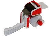 Диспенсер для клейкой упаковочной ленты шириной до 50мм, пластик, STAFF, 440124