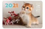 "2021 Календарь карманный 70*100 2021 ""Котята"" HATBER"