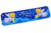"""Закладка """"Ангелы"""" глиттер, месяц и звёзды  4565592"""