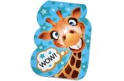"Закладка магнитная ""Wow!"" жираф  4692487"