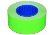 Этикет-лента 21, 5 х 12 мм, зеленая, 800 этикеток