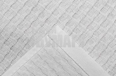 Полотенце вафельное Элиза 001 30х30 см, белый, хлопок 100%, 200г/м2  4777528