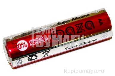 "Батарейка AA/LR6 ФAZA ""Super"" блистер алкалин е/п LR6SA-SB12"