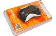 Мышь проводная USB, 2 кнопки + 1 колесо-кнопка, оптическая,