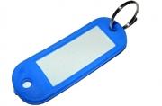 Бирка для ключей YIWU пластик., непрозрач., скруглен. углы, ассорти