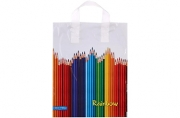 """Пакет """"Карандаши"""", полиэтиленовый с петлевой ручкой, 28x34 см, 60 мкм 5221762"""