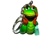 "Брелок-полистоун ZH6432 ""Змея красотка"", 4х2, 5 см, 3 асс /12 /0 /576"