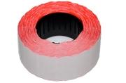 Этикет-лента волна 22 х 12 мм, красная, 700 этикеток