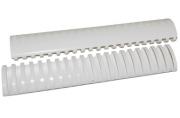 Пружины пласт. д/переплета BRAUBERG,  51 мм (для сшивания 411-450л), белые, 530935
