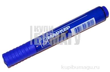 Маркер перм синий 4, 8мм YIWU круг/жало