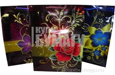 Пакет подар. пластик 1578-3, Подарок, 39х29х10см, 4 асс /12 /0 /480