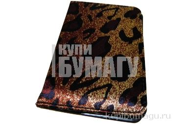 """Обложка д/автодок 7100-А """"Леопард"""", к/зам /10 /0 /"""