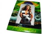 "Фоторамка-стекло 9957 ""Футбол"", 10х15 см, 4 асс. /1 /0 /60"