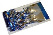 НГ Дождик новогодний, ширина 75мм, длина 1, 5м, ассорти 4 цвета, Д-304