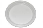 Тарелка одноразовая десертная d=220 мм белая 100шт/уп~~