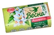 """Мыло туалетное 90г ВЕСНА """"Жасмин и зелёный чай"""", 6084"""