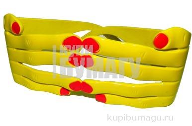 "Очки 12377 ""Руки"", пластик, цв. асс /12 /0 /300"