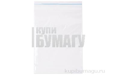 "Пакеты с замком ""зиплок"" (гриппер),  40х60мм, ПВД, 32 мкм"
