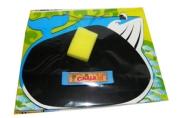 """Доска 10411 """"Акула"""" для письма мелом, 24*19, 5 см, мелок+губка /1 /0 /144"""