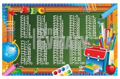 """Плакат А2 """"Таблица умножения"""" МИЛЕНД 10-01-0127"""