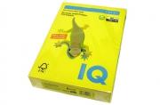 """Бумага цветная д/офисной техники 80г/м2 А4 """"IQ COLOR"""" (канареечно-желтый) CY39 ~~"""