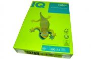 Бумага цветная IQ COLOR (А4, 80г, NEOGN-зеленый неон, Австрия) ~~