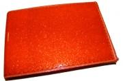 """Визитница 4006/2_V """"Лак оранжевый"""", на 16 карточек, 7, 5х11см, к/зам J. Otten /50 /0"""