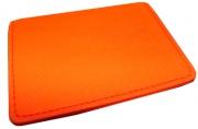 "Визитница верт. 4038_V, ""Оранжевый неон"", на16 карт, 7, 5х11см, к/зам /10 /0 /120"